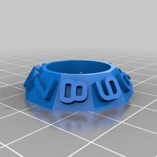 7413e68da4e7365b55763f08c76bbae7.png Download free STL file Latch Cryptex - Cerrojo • 3D printable design, xutano