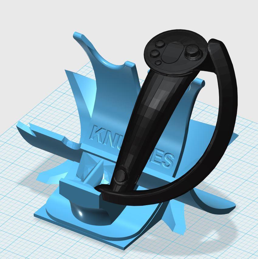 123KNUCKLES-2.JPG Télécharger fichier STL gratuit Détenteur d'un bracelet électronique • Objet imprimable en 3D, xutano