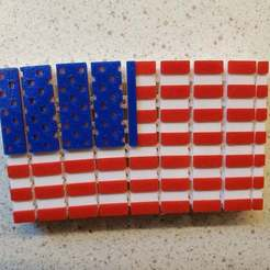 Download free 3D printing models Articulated Flag, johnnalezny