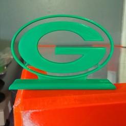20200323_183031_2.jpg Download STL file Wisconsin Green Bay Packers Logo • 3D print model, Projedel