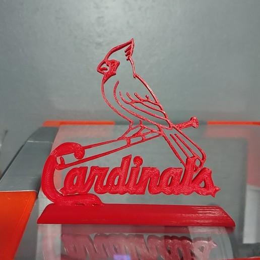 Descargar modelos 3D para imprimir Logotipo de los Cardenales de San Luis, Projedel