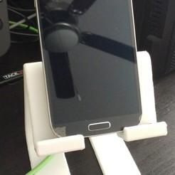 Télécharger fichier impression 3D gratuit Grand stand téléphonique, greenbox6