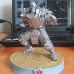 Download 3D printer designs ALPHONSE ELRIC, casotomayor