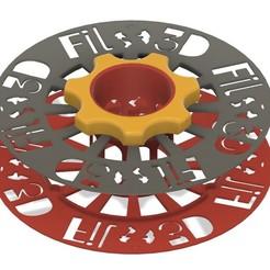 bobine vissé.jpg Télécharger fichier STL gratuit  Filo3D , DAGOMA, support pour bobine, Club Dagoma, https://cutt.ly/RfOAMrN • Objet pour imprimante 3D, thecartoon