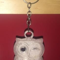 Télécharger fichier 3D Porte-clés Owl - Porte-clés Owl modèle d'impression 3D, Rayner80