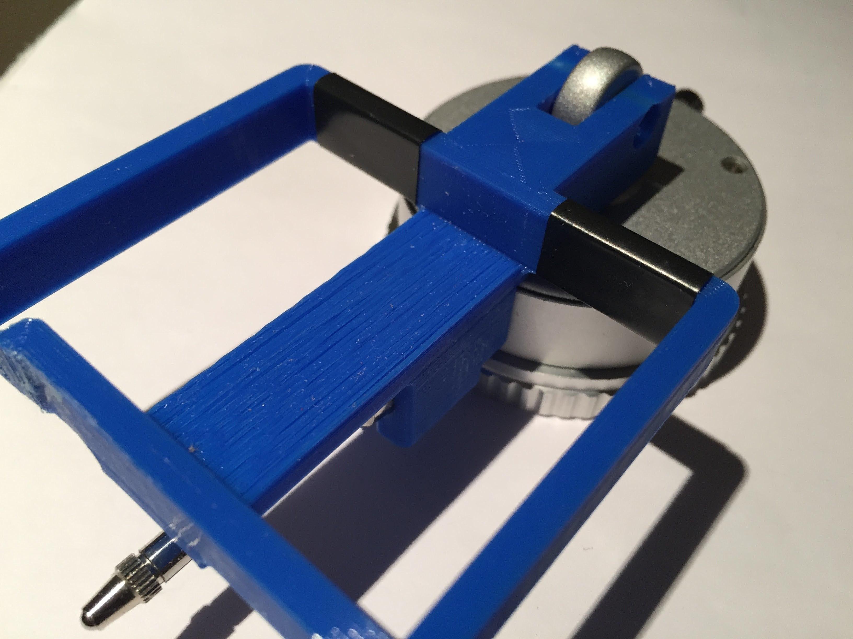 CC_Dial Holder Master-02-5 (7).jpg Download free STL file CR-10 Dial Indicator Mount • 3D printer model, Trikonics