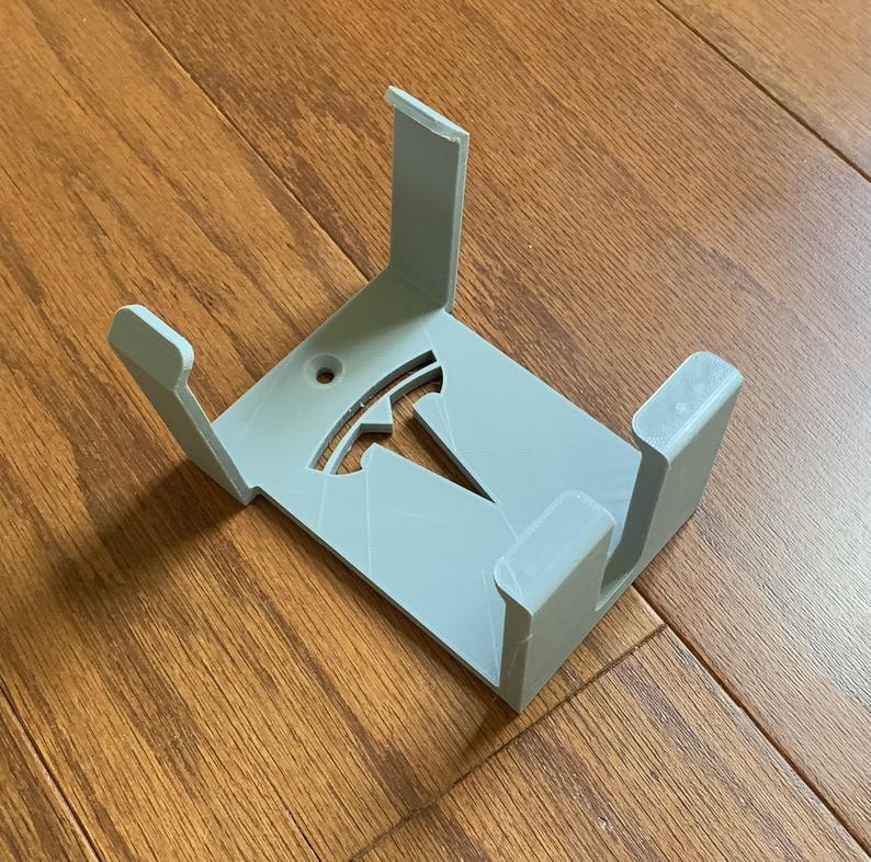 DFA405C9-D662-4878-A29C-BE13DAD67FB4.jpeg Download free STL file TESLA MOBILE CHARGER GEN 2  - CABLE HOLDER WALL MOUNT Bracket for (Gen2 UMC North America) • 3D printable design, Trikonics