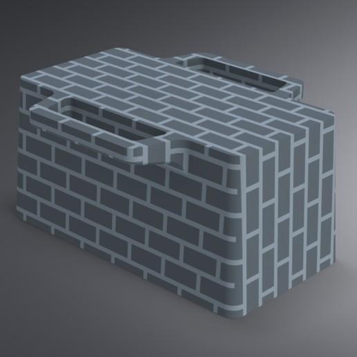 Snow Igloo Mold (4).jpg Télécharger fichier STL gratuit Moule à brique à neige pour l'extérieur - Forteresse Igloo • Objet imprimable en 3D, Trikonics