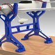 "3D printer models RC PLANE STAND ""IRONMAN"", Trikonics"