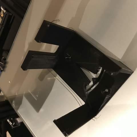 IMG_5847.jpg Download free STL file TESLA MOBILE CHARGER GEN 2  - CABLE HOLDER WALL MOUNT Bracket for (Gen2 UMC North America) • 3D printable design, Trikonics
