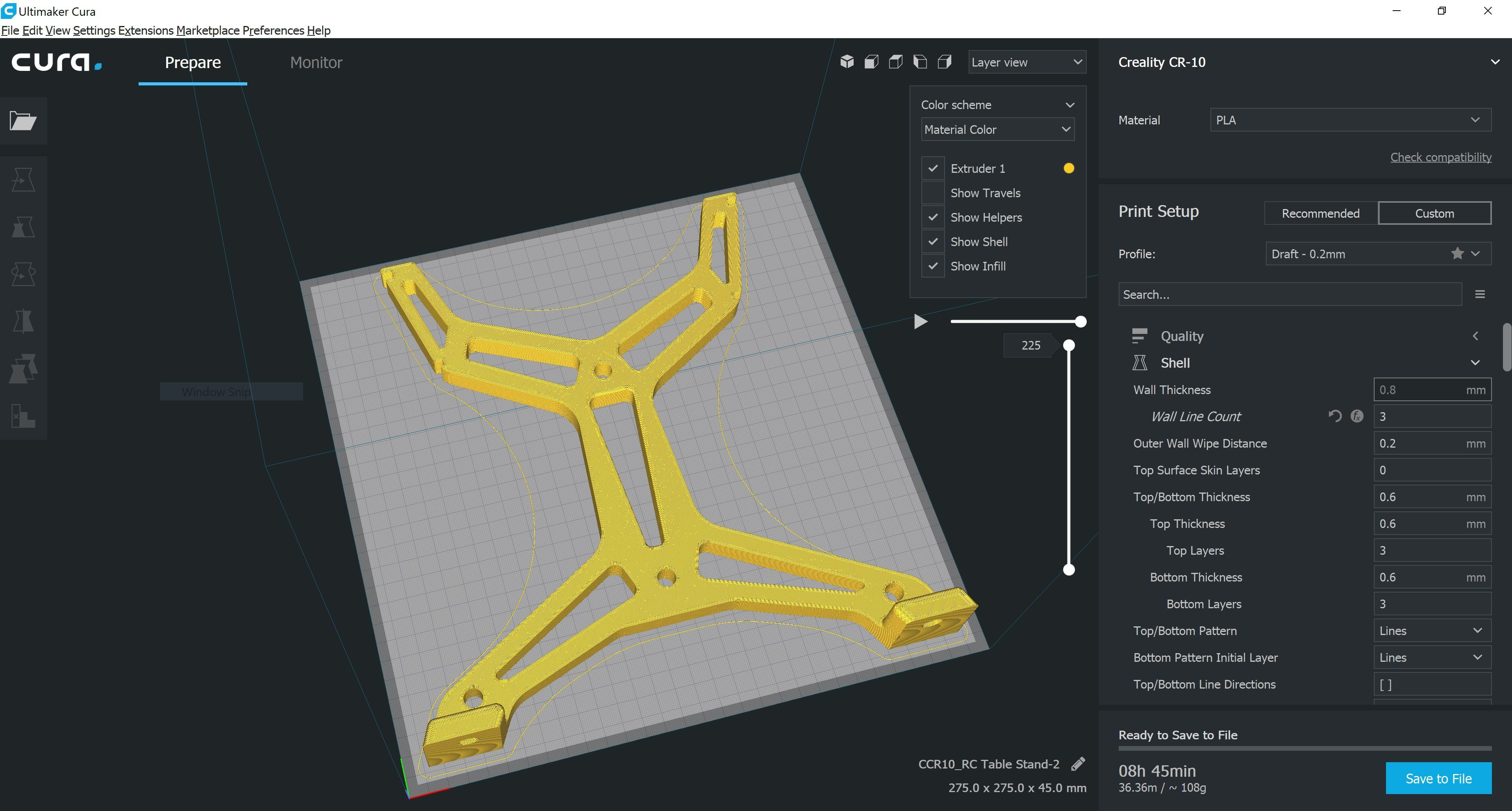 """RC Table Stand-1.JPG Download STL file Table STAND for RC PLANE """"IRONMAN"""" • 3D print template, Trikonics"""