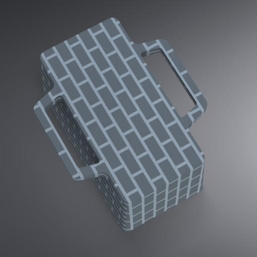 Snow Igloo Mold (3).jpg Télécharger fichier STL gratuit Moule à brique à neige pour l'extérieur - Forteresse Igloo • Objet imprimable en 3D, Trikonics