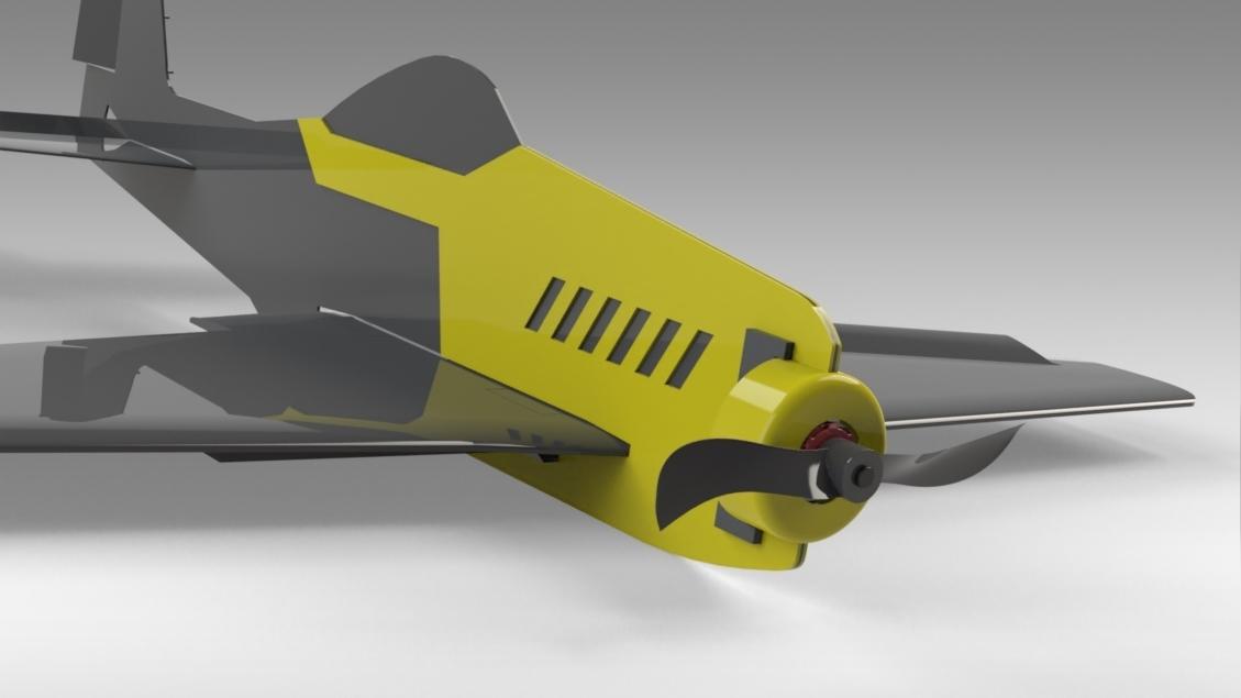 Untitled 628.jpg Download free STL file V1 Release - New RC Plane • 3D printable design, Trikonics