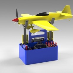 Download 3D printing designs RC PLANE or Drone FIELD TOOLBOX - configurable design, Trikonics