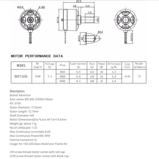 Motor.JPG Download free STL file V1 Release - New RC Plane • 3D printable design, Trikonics