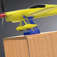 3D print model Center of Gravity Balance for RC Airplanes, Trikonics