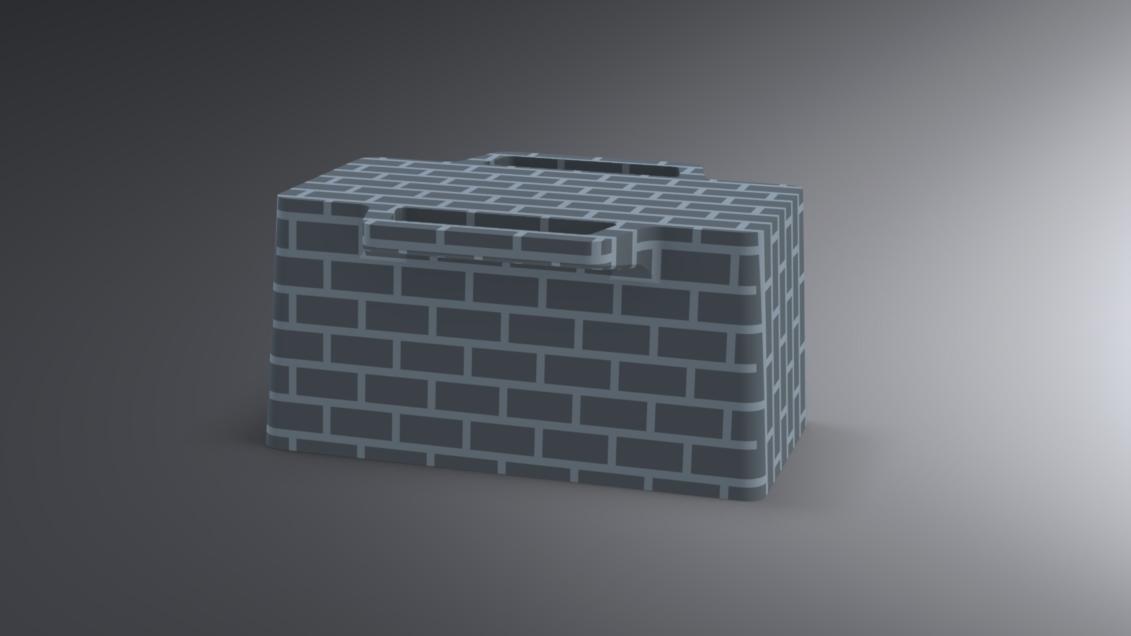 Snow Igloo Mold (2).jpg Télécharger fichier STL gratuit Moule à brique à neige pour l'extérieur - Forteresse Igloo • Objet imprimable en 3D, Trikonics