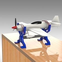 """Télécharger fichier 3D Mini Pied pour rabot RC - """"MINI IRONMAN""""., Trikonics"""