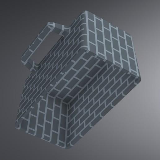 Snow Igloo Mold (1).jpg Télécharger fichier STL gratuit Moule à brique à neige pour l'extérieur - Forteresse Igloo • Objet imprimable en 3D, Trikonics