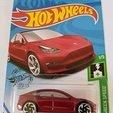 Hot Wheels Image.jpg Download STL file Tesla Hot Wheels Stand • 3D printing model, Trikonics