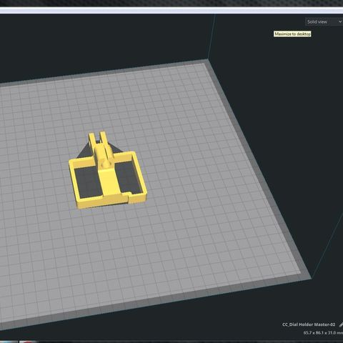 CC_Dial Holder Master-02-2.JPG Download free STL file CR-10 Dial Indicator Mount • 3D printer model, Trikonics