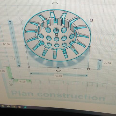 Télécharger fichier STL gratuit filtre douchebain évier • Plan imprimable en 3D, pintusanthony