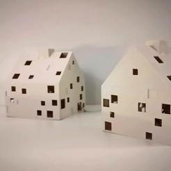 1.jpg Télécharger fichier 3DS Led maison de Noël • Objet pour impression 3D, igblm44