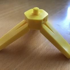 Free 3D model Keychain camera tripod (1/4 screw), lordfaun