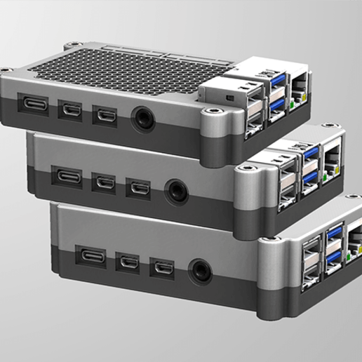 RPI4-9.png Télécharger fichier STL gratuit Étui Pi 4B Framboise Framboise • Objet pour imprimante 3D, mkellsy