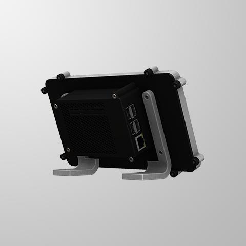 RTS-3.PNG Télécharger fichier STL gratuit Raspberry Pi Étui officiel pour écran tactile Raspberry Pi • Modèle pour imprimante 3D, mkellsy