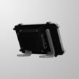 STL gratis Estuche oficial para pantalla táctil de frambuesa Pi, mkellsy