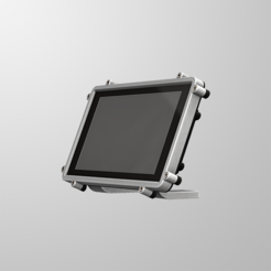 RTS-1.PNG Download free STL file Raspberry Pi Official Touchscreen Case • Object to 3D print, mkellsy