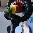 Download 3D printer designs RAINBOW ROLLER-COASTER - KINETIC CIRCLE SCULPTURE, mkellsy