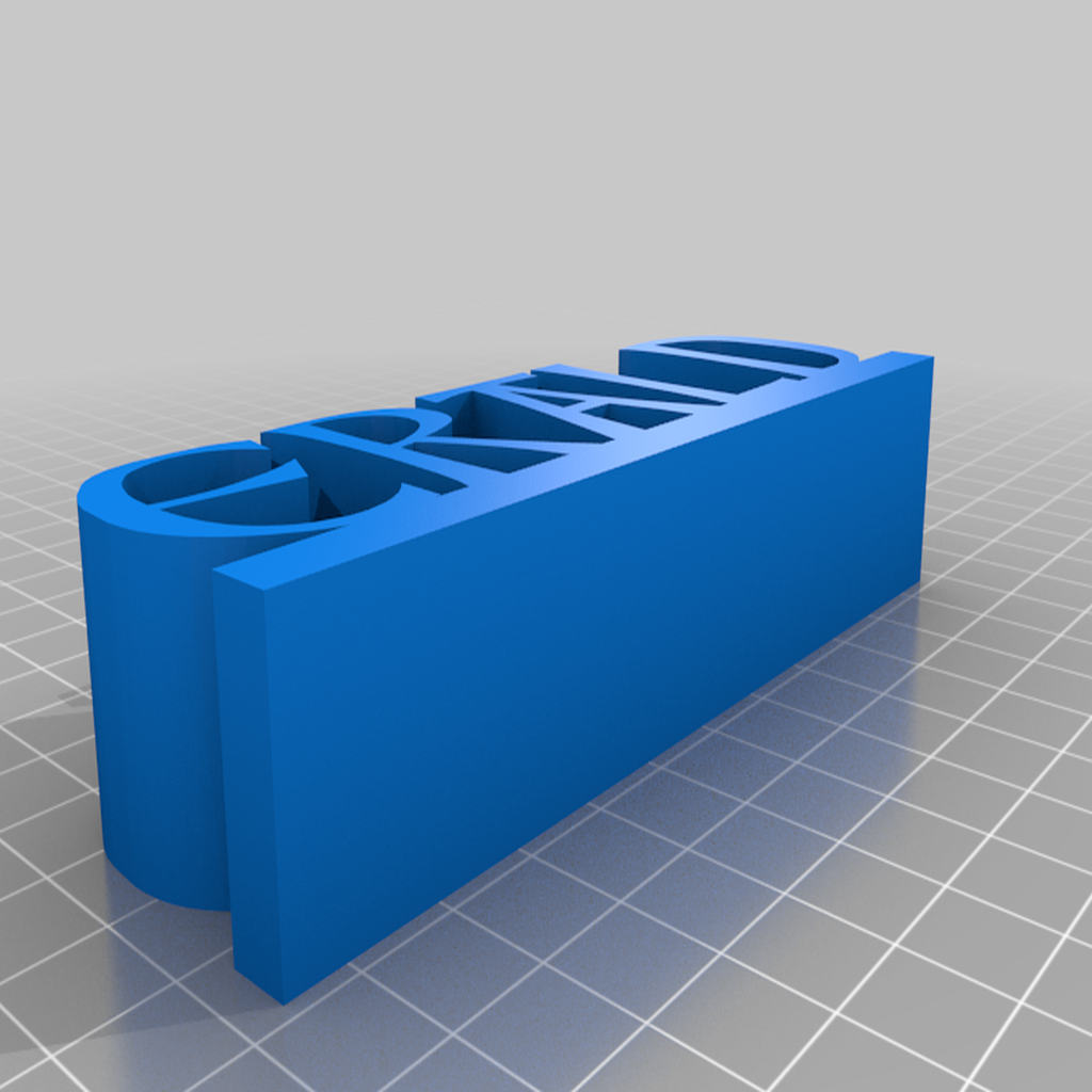 Fitzgerald_right_earld.png Download free STL file Fitzgerald Name Sign / Nameplate • 3D printer object, gient