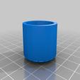 Folding_Chair_Leg_Cover.png Download free STL file Folding Chair foot / feet / Leg Cap • 3D printable design, gient
