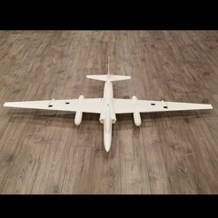 Download 3D print files 1/20 Scale U-2R RC Model (1627mm Wingspan), DirtyDee