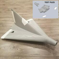 Lippisch P13a Test Files.jpg Télécharger fichier STL gratuit LIPPISCH À L'ÉCHELLE 1/10 P.13A RC MODEL TEST FILES AND MANUAL • Plan pour imprimante 3D, DirtyDee