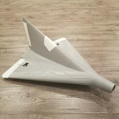 p13a 1.jpg Télécharger fichier STL MAQUETTE AU 1/10E DE LIPPISCH P.13A RC (600MM D'ENVERGURE) • Objet imprimable en 3D, DirtyDee
