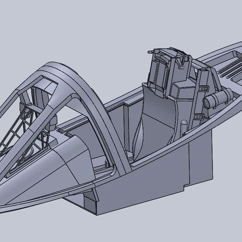 Freewing A-10 Scale Cockpit Set