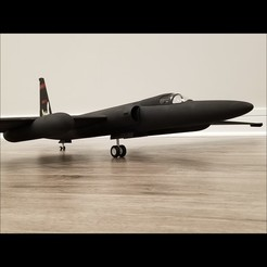 20200402_212445.jpg Download STL file 1/20 Scale U-2R RC Model (1627mm Wingspan) • 3D printable design, DirtyDee