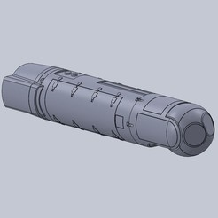 3D print files 1/10TH SCALE AN/AAQ-28(V) LITENING TARGETING POD, DirtyDee