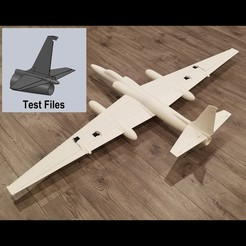 Download free 3D printer files 1/20 SCALE U-2R RC Model Test Files and Manual, DirtyDee