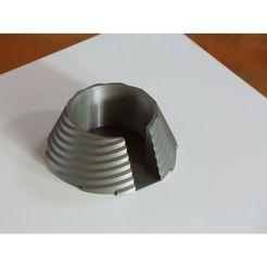 F62B7197_sq.jpg Télécharger fichier STL gratuit Porte-gobelet • Plan pour imprimante 3D, Devstroyer