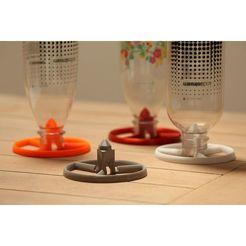 Descargar diseños 3D gratis Secador de botella SodaStream (apilable), Devstroyer