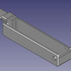 "Capture2.JPG Download free STL file Parker ""Mega Flipper Dome"" Pinball Handle • Model to 3D print, enguerrand"