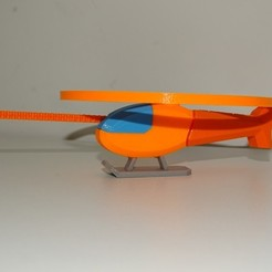 Download free STL file Multi-Color Flying Helicopter Toy • 3D printing design, enguerrand