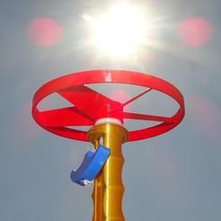 Télécharger STL gratuit Hélicoptère à cordes tractées, enguerrand