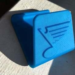 Free 3D printer designs Phone stand holder, St Louis blues hockey, shasha