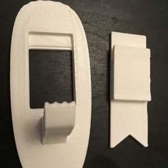 9f40c325b5cd68b9d937dc5cf35cf8a5_display_large.JPG Télécharger fichier STL gratuit Crochet 3M : Snap on two pieces • Design pour impression 3D, shasha