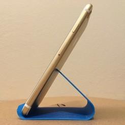 IMG_3284.JPG Download free STL file Minimum Phone Stand • 3D printable design, shasha